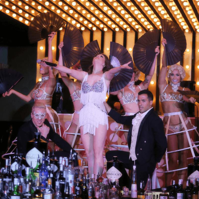 gatsby barcelona   restaurante & show