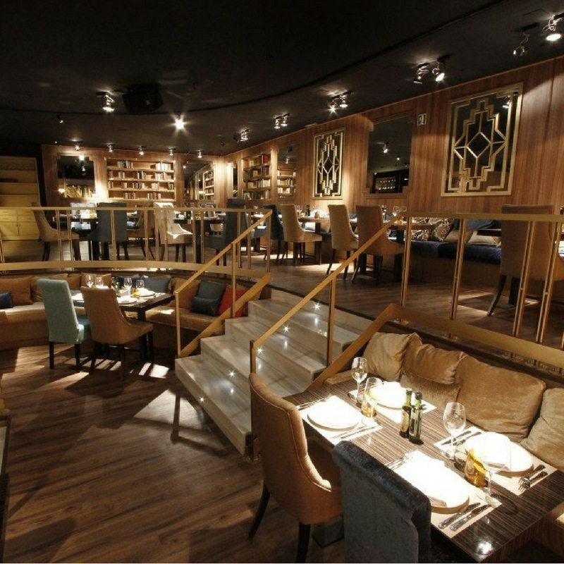Vista del Restaurante Gatsby Barcelona ES